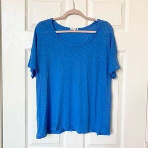 Sundry Blue Oversized T Shirt